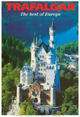 Trafalgar Tours - The Best of Europe - Neuschwanstein Castle - Bavaria, Germany by Pacifica Island Art