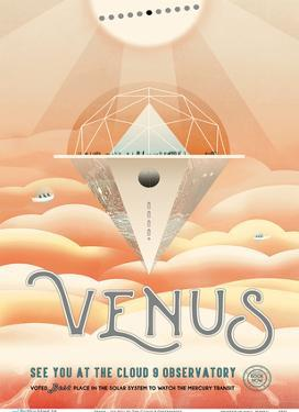 Venus - See You At The Cloud 9 Observatory by Pacifica Island Art