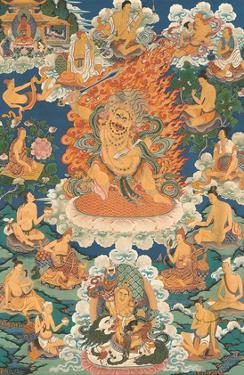 Yellow Jambhala, Wealth God by Pacifica Island Art