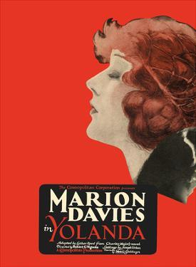 Yolanda - Starring Marion Davies, Lyn Harding and Holbrook Blinn by Pacifica Island Art