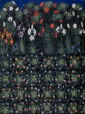 Garden (From Regia Carmina by Convenevole Da Prat) by Pacino Di Buonaguida