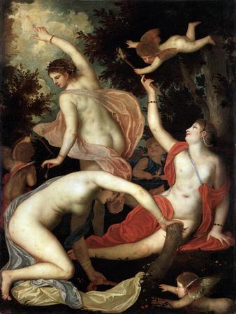 Graces and Cupid, C1600-1640