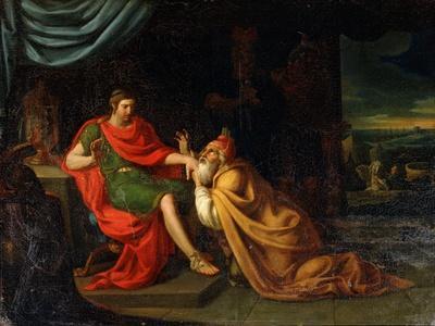 Priam and Achilles, 17th Century