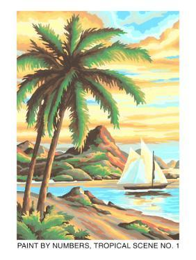 Paint by Numbers, Tropical Scene Number One