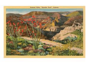 Painted Cliffs, Apache Trail, Arizona