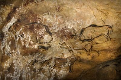 Painting in the Cave of Niaux