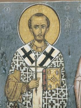 Paintings of St. John Chrysostom, Panagia Ties Asinou Church, Nikitart, Cyprus