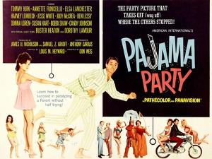 Pajama Party, Annette Funicello, Tommy Kirk, 1964