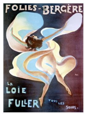 La Loie Fuller by PAL (Jean de Paleologue)