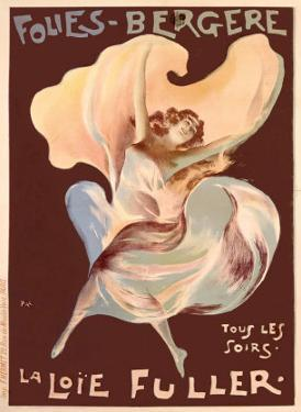 La Loie Fuller by PAL (Jean de Paleologue)
