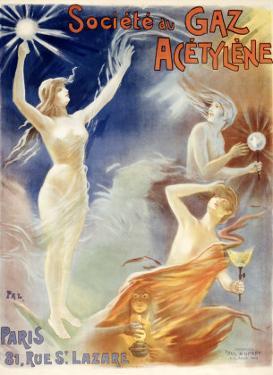 Societe du Gaz Acetylene by PAL (Jean de Paleologue)
