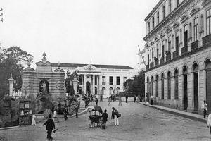 Palace of the Government, Sao Paulo, Brazil, 1895 by A Frisch