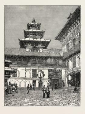 Palace of the Rajah of Nepaul, Nepal