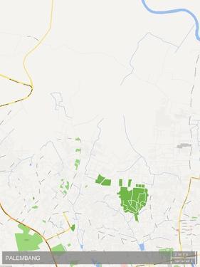Palembang, Indonesia Map