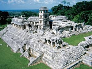 Palenque Archeological Site, Palace, Mexico