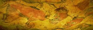 Paleolithic Paintings, Altamira Cave, Santillana Del Mar, Cantabria, Spain