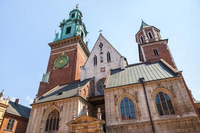 Historic Castle in Old Krakow