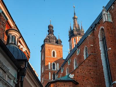 Historic Houses in Krakow