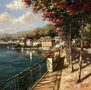 Bellagio Harbor by Paline