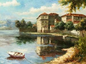 Coastal Village by Paline