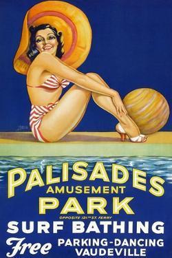 Palisade Amusement Park Surf Bathing