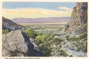 Palm Springs from Tahquiz Canyon