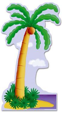 Palm Tree Lifesize Standup