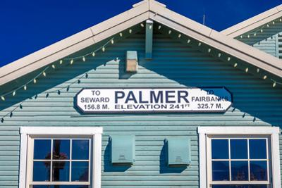 Palmer, Alaska, United States - train station