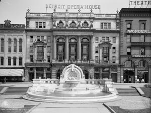 Palmer Foundation and Detroit Opera House, Detroit, Michigan, C.1906