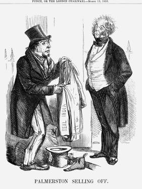 Palmerston Selling Off, 1858
