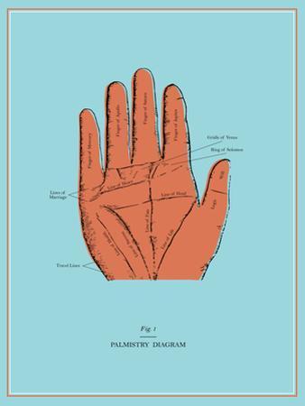 Palmistry Chart
