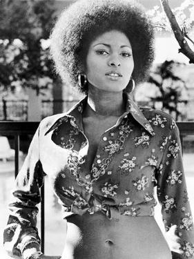 "Pam Grier. ""Coffy"" [1973], Directed by Jack Hill."