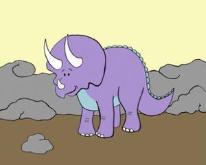 Prehistoric Playtime II by Pam Ilosky