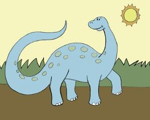 Prehistoric Playtime IV by Pam Ilosky