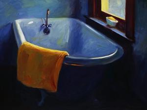 Blue Tub by Pam Ingalls