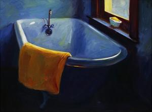 Blue Tub by Pam Ingalls