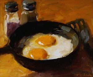 Fried Eggs III by Pam Ingalls