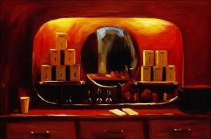 Tea Niche by Pam Ingalls