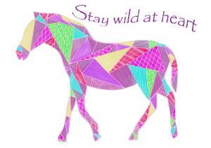 Colorpoly Horsia Stay Wild by Pam Varacek