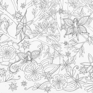 Fairy Floral 1 by Pam Varacek
