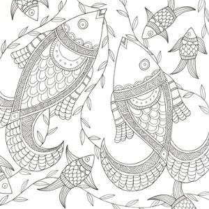 Fish In The Wild by Pam Varacek