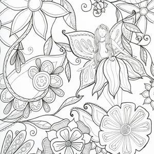 Floral & Fairy by Pam Varacek
