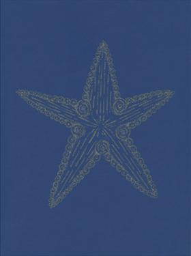 Glowing Indigo Starfish by Pam Varacek