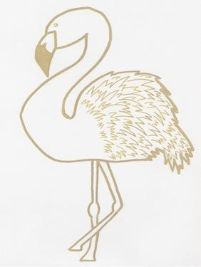 Golden Flamingo by Pam Varacek