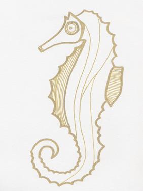 Golden Seahorse by Pam Varacek