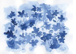 Indigo Flower Bush by Pam Varacek