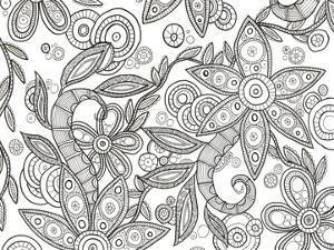 Jungle Flora 1 Less by Pam Varacek