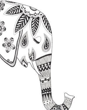 Lone Elephant by Pam Varacek