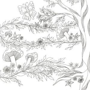 Mushroom Trees by Pam Varacek