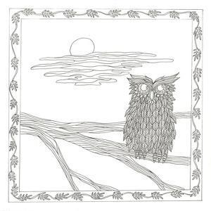 Owl In The Moonlight by Pam Varacek